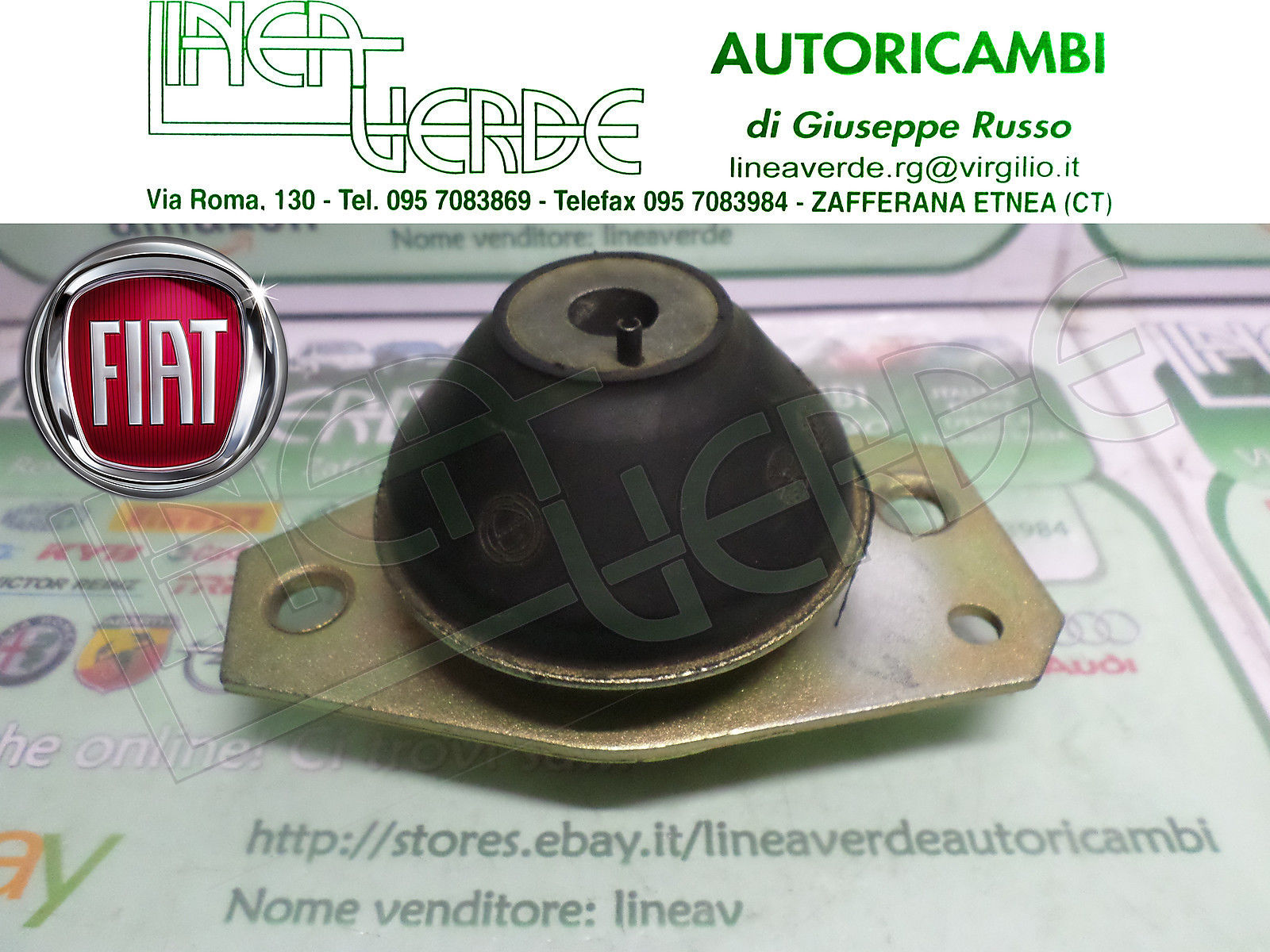 SUPPORT DOWEL FRONT ENGINE LANCIA DELTA 1,3 -1,5 PRISMA ORIGINAL