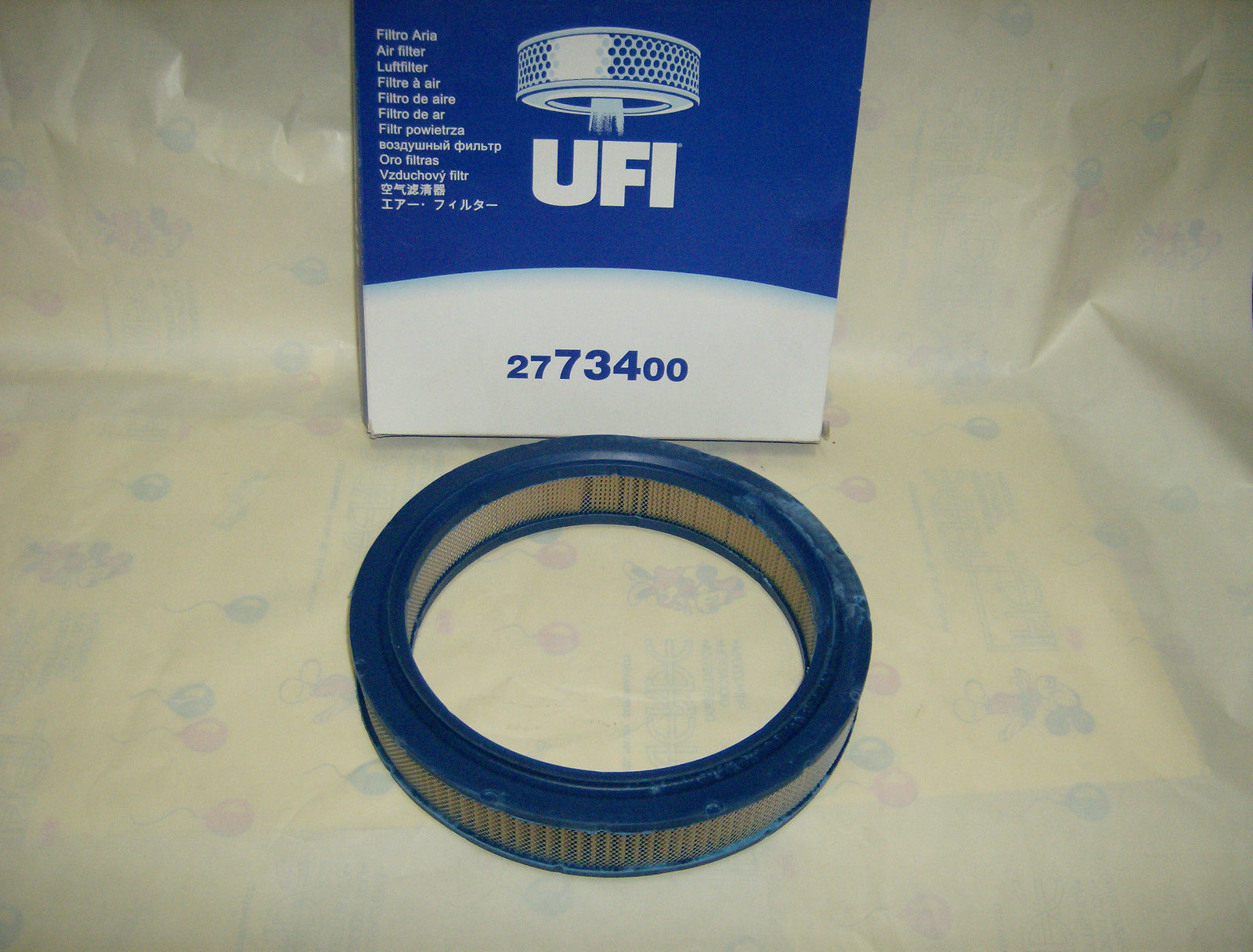 AUTOBIANCHI A112 1.0 ABARTH AIR FILTER ORIGINAL UFI WITH NETWORK SEE PHOTO REAL