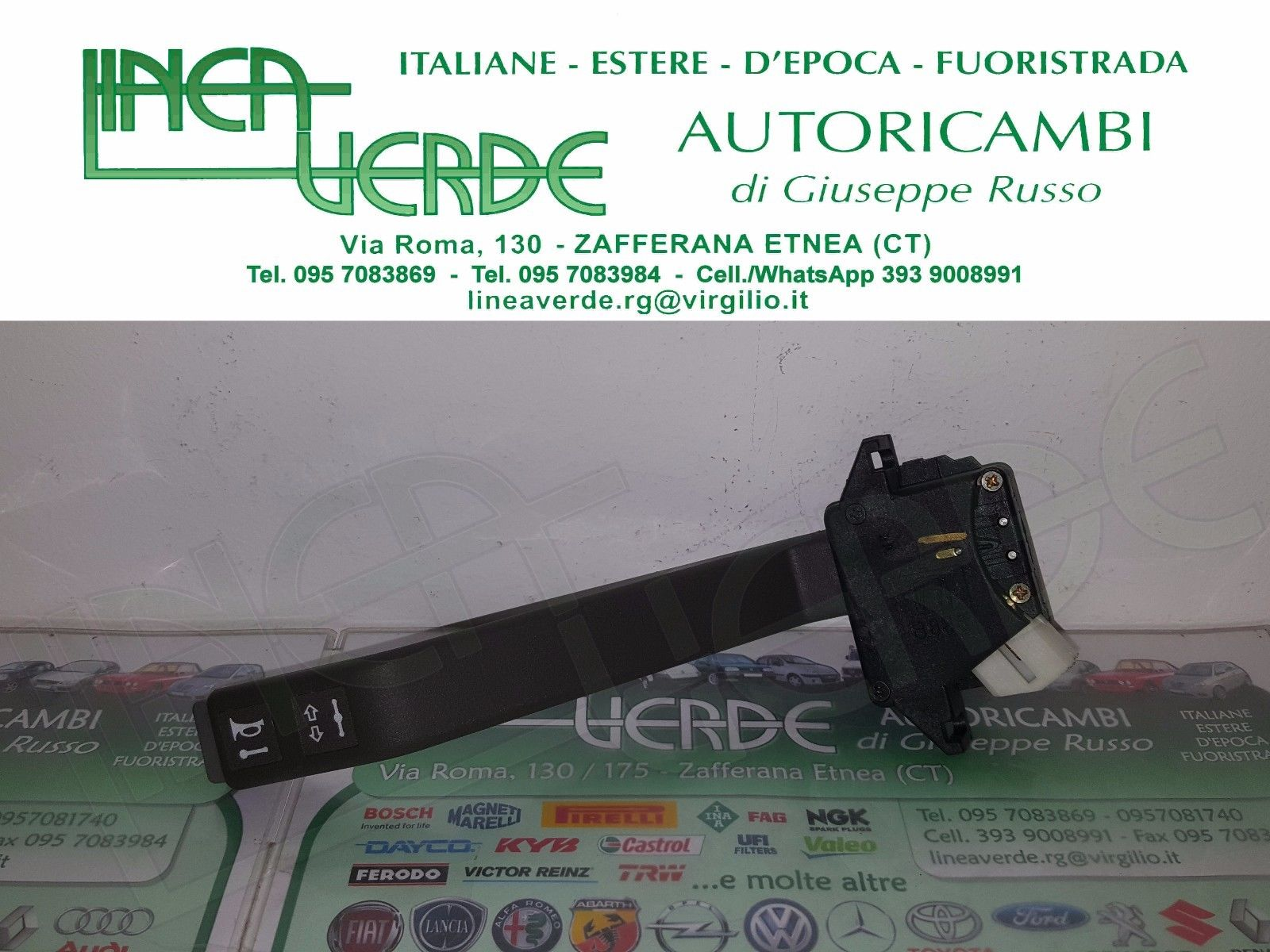 STEERING STALK LEVER DIRECTION ORIGINAL 93160487 - 93194120 IVECO EUROCARGO