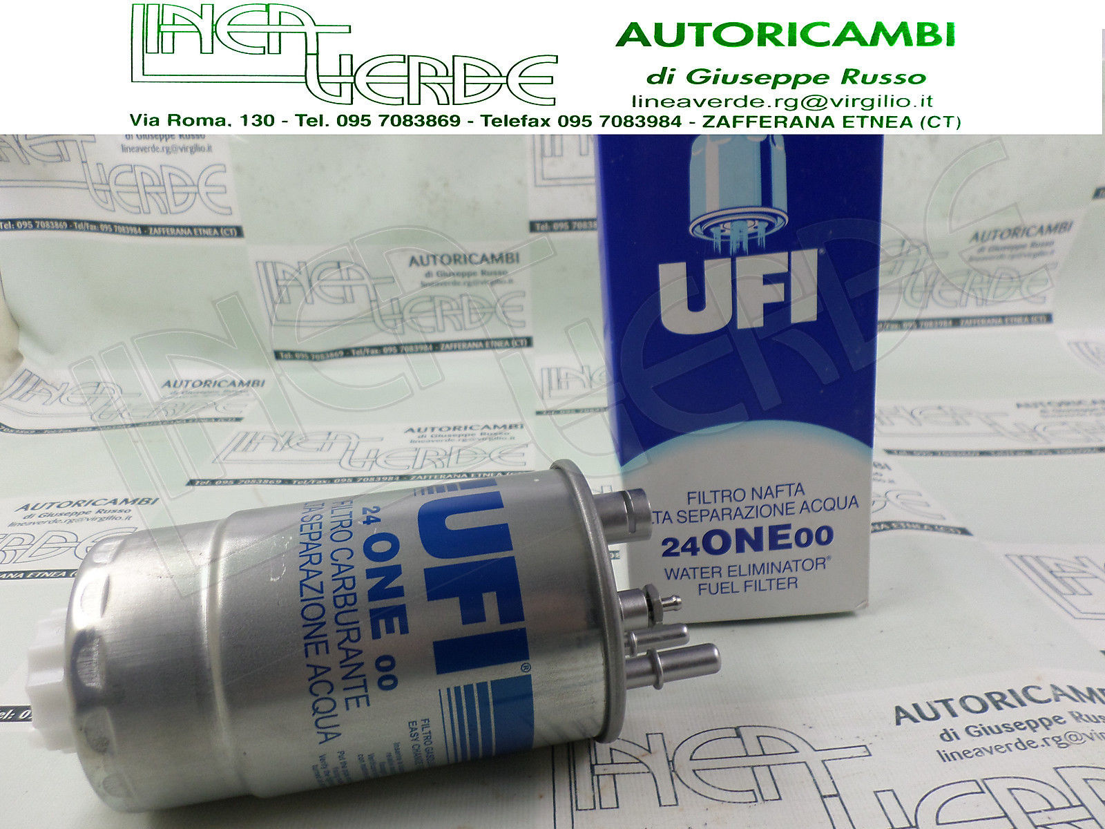FILTER DIESEL OIL UFI ORIGINAL FOR 77363804 FIAT QUBO 1, 3D MTJ