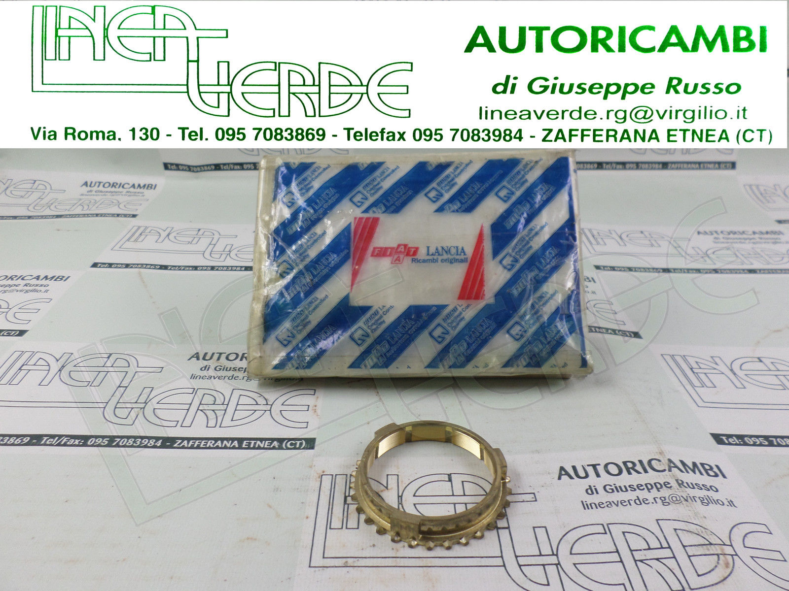 SYNCHRONIZER 1^ 2^ SPEED EXCHANGE 7617533 PRODUCT ORIGINAL FIAT PANDA UNO Y10