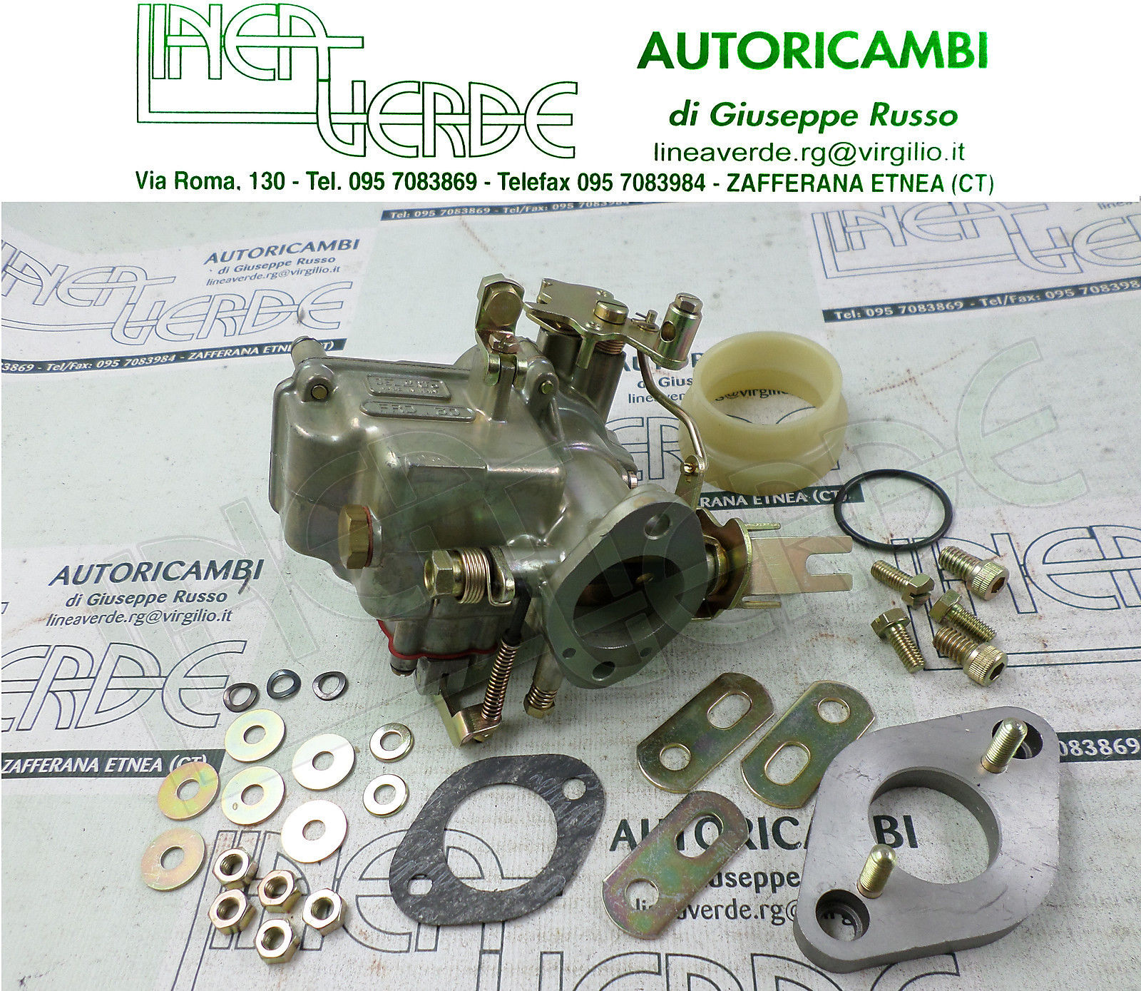 FORD ESCORT 940 MOD 71 CARBURATORE DELL'ORTO FRD30 MONOCORPO INVERTITO