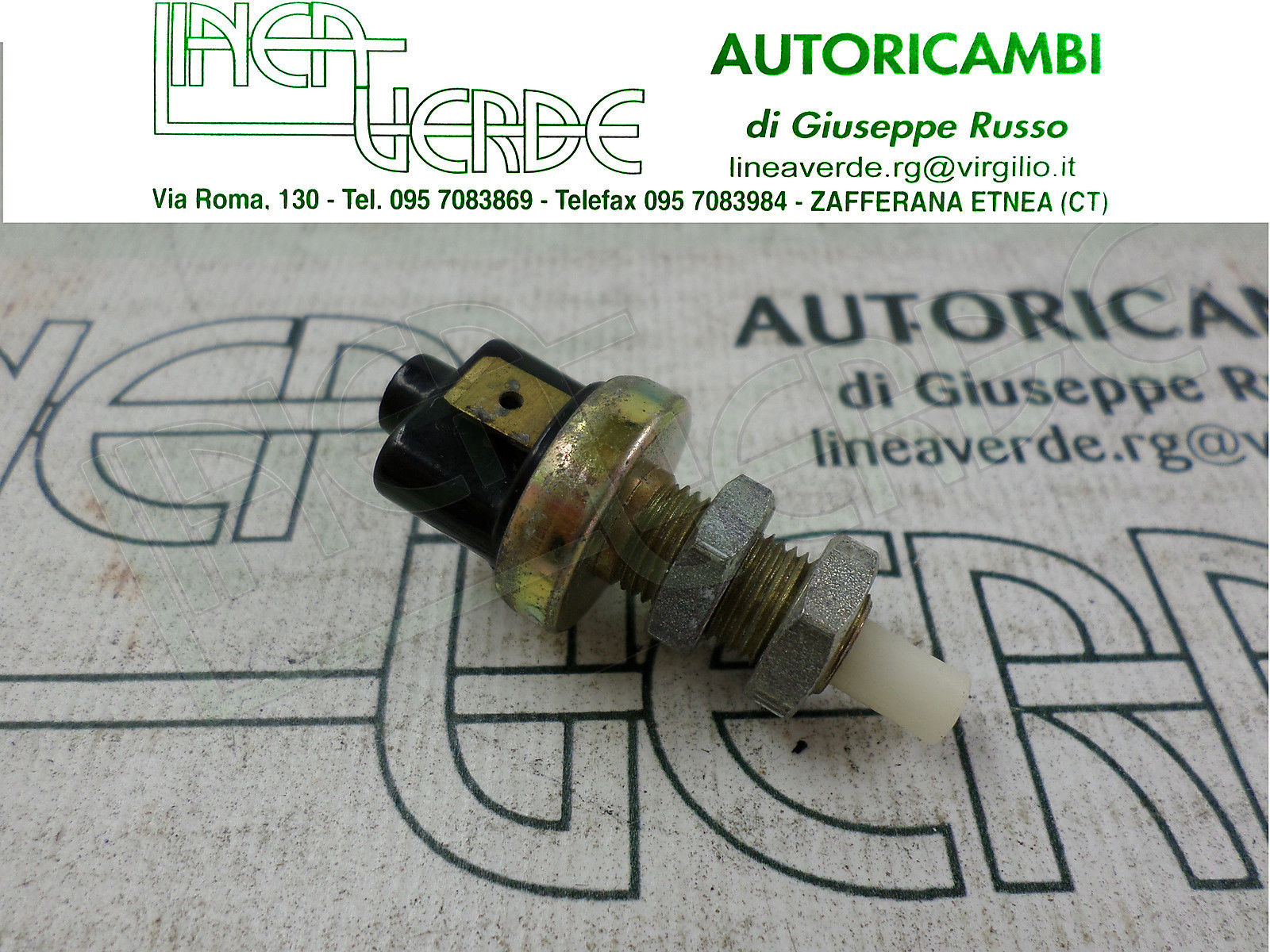 SWITCH STOP LIGHTS BRAKE FOR 53331116 INNOCENTI MINI A THOUSAND 80-83 MINI 3 CIL