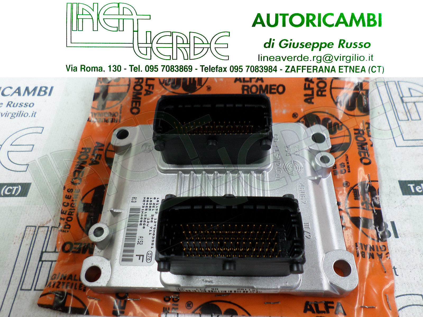 ECU INJECTION ORIGINAL 46815366 ALFA 156 1,8 T.S. CF3